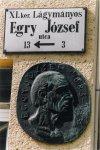 Egry József emléktábla