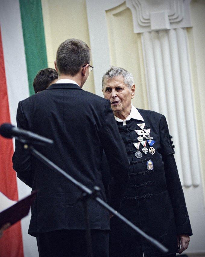 Kellner Lajos kitüntetése
