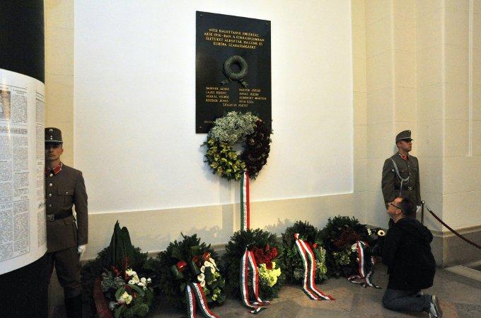 Az 56-os műegyetmista forradalmárok emléktáblája