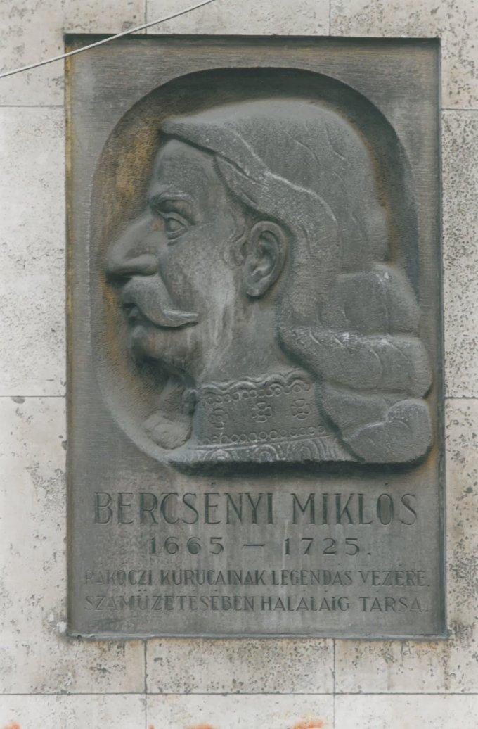 Bercsényi Miklós emléktábla
