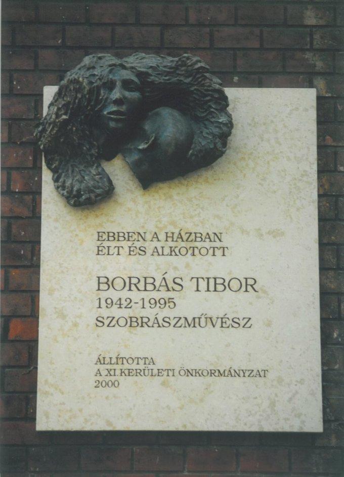 Borbás Tibor emléktábla