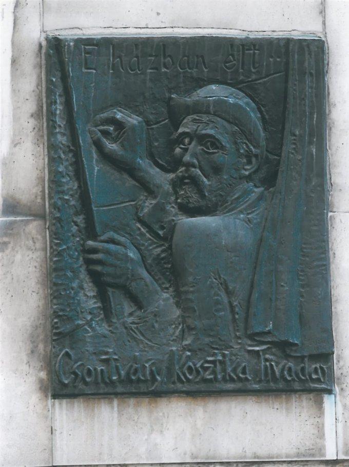 Csontváry Kosztka Tivadar emléktábla