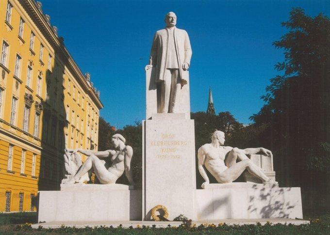 Kleblsberg Kunó emlékmű