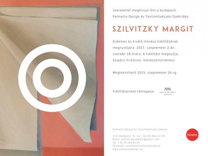 A Magyar Textilművészeket bemutató sorozat 7. kiállítása a Palmettában