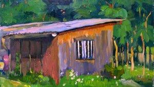 Torjay Valter festőművész kiállítása a Malomban
