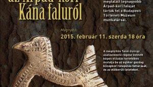 Fotókiállítás az Árpád-kori Kána faluról - Albertfalvi Közösségi Ház