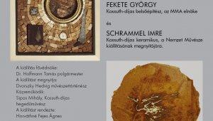 Fekete György és Schrammel Imre kiállítása
