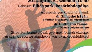 Új sportpályákat adnak át a Bikás parkban